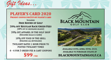 Black Mountain Golf